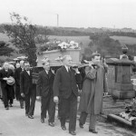 The funeral of J. Shaw