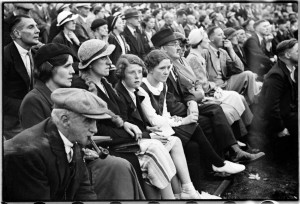 Spectators at a Rounders Match