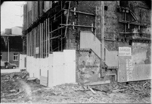 Demolition of Davenport Street