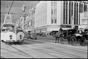 Streamlined Boat-tram