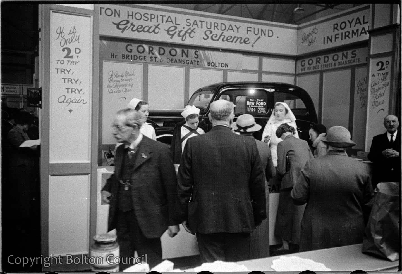 Bolton Hospital Stall, Happy Homes Exhibition.