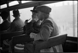 Conversation on a tram