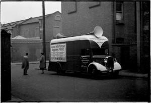 Campaign Van, Fulham West.