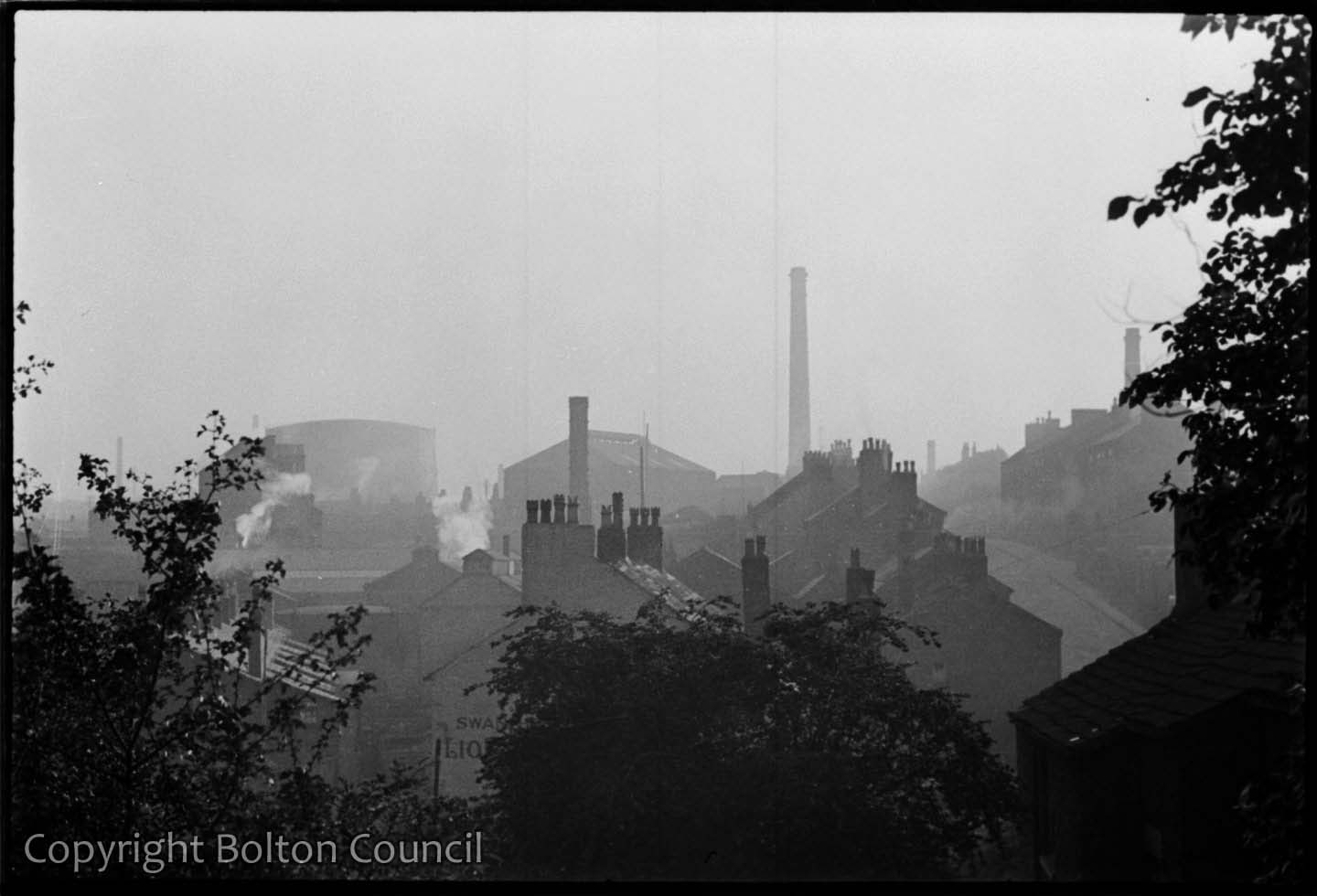 Rooftops of Chorley