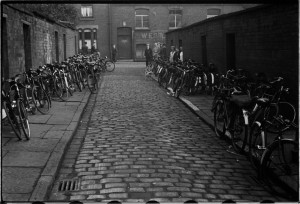 Bicycles outside the West Ward Labour Club