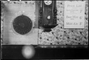 Dartsboard and Clock