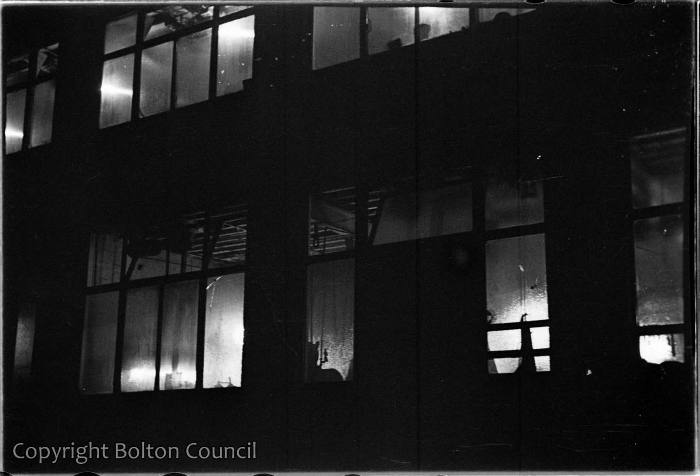 Mill Windows at Night