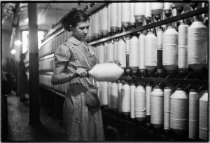 Girl with Bobbin