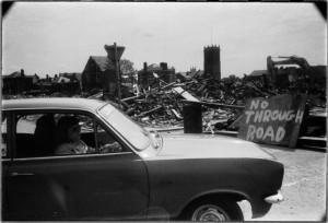 Demolition of Davenport Street