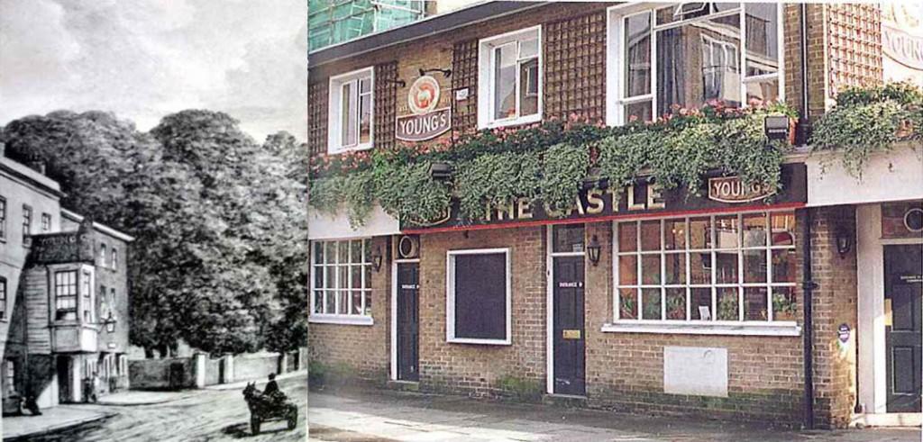 Castle Battersea Sign